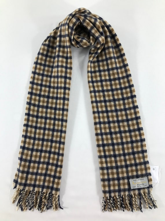 Vintage Aquascutum Scarf Muffler Accessories Wrap