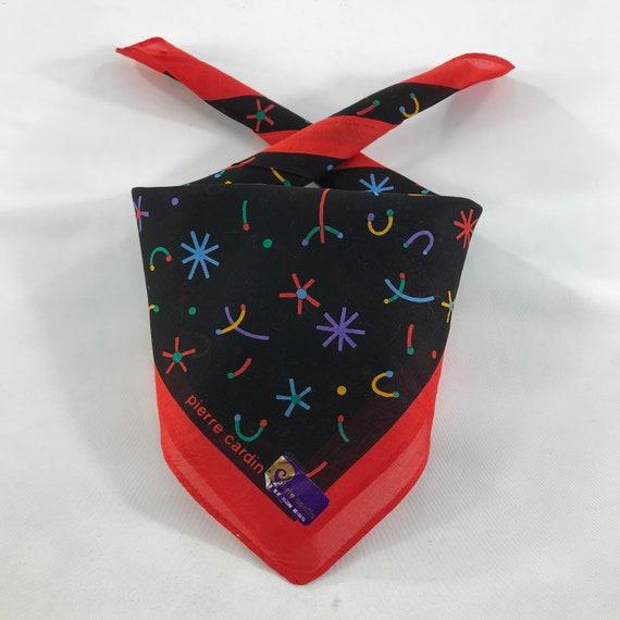 LaCoste Handkerchief Pocket Square Neckerchief Face Mask Floral Babushka Bandana Accessories Head Band Hair Tie