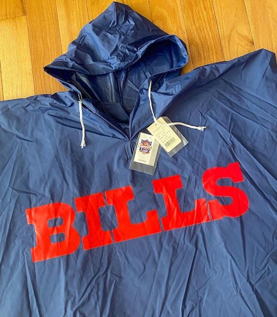 Vintage Buffalo Bills NFL rain poncho