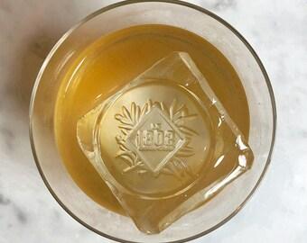 Custom ice mold, Custom logo Ice Cube Stamp for Ice Cubes , Custom Soap Stamp,Custom Brass stamp, ice cubes branding stamp