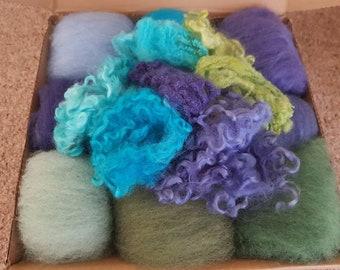 Wool Crafting Box - Seaside