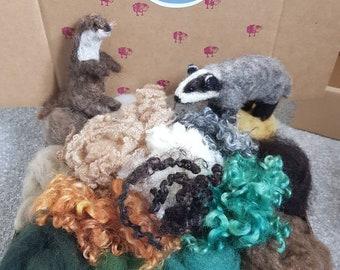 Wool Craft Box - Woodland