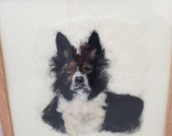"""Needle Felt 'Dog Portrait """""""