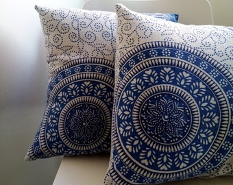 Set of Extra Large Throw Pillows with