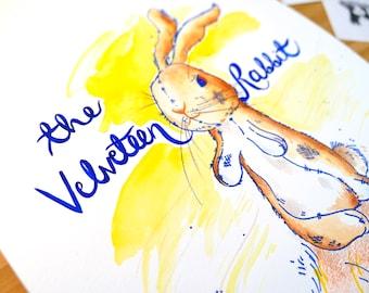 The Velveteen Rabbit Original Watercolour