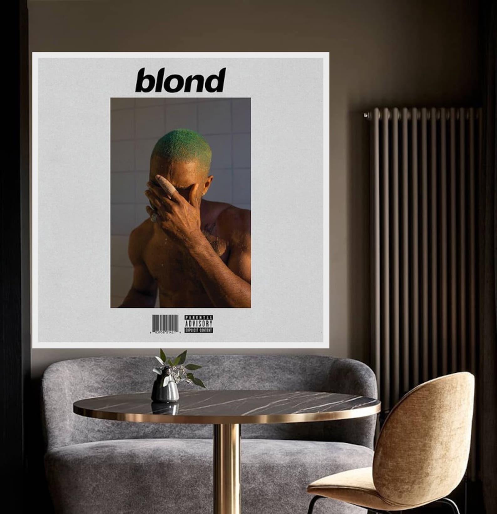 Frank ocean blonde album cover music Fancier Audiophile