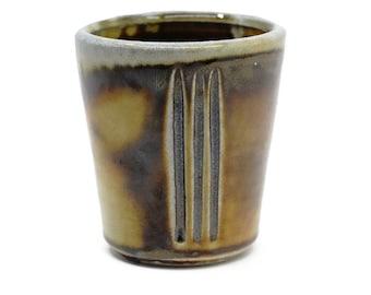 Tenmoku soda-fired cup