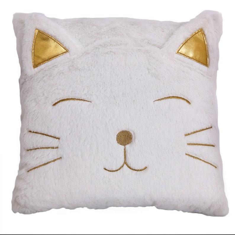 35CM Square Cat Face Cushion
