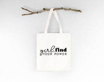 Boss Lady Crown Tiara Pink Font Feminist Gift Bag Unique Funny Reusable Tote Shopping Shoulder Bag Internet Unique Gift Funny Cute