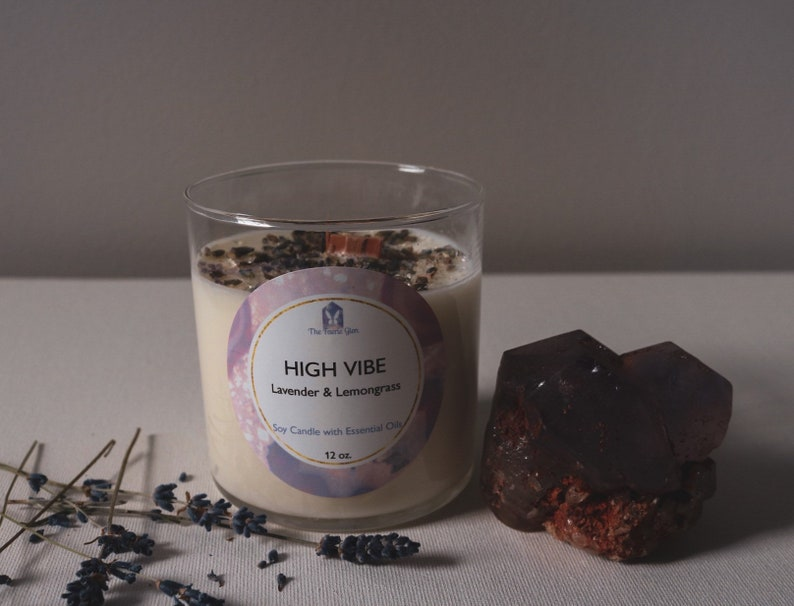 High Vibe Soy Candle