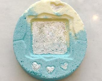 90s Nostalgia Digital Pet Tamagotchi Kawaii Geeky Fruit Smoothie Bath Bomb | Valentine's Gift