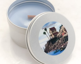 AVATAR: The Last Airbender, EMBER ISLAND Scent Hand Crafted Geeky Anime Wood Wick Soy Candle |