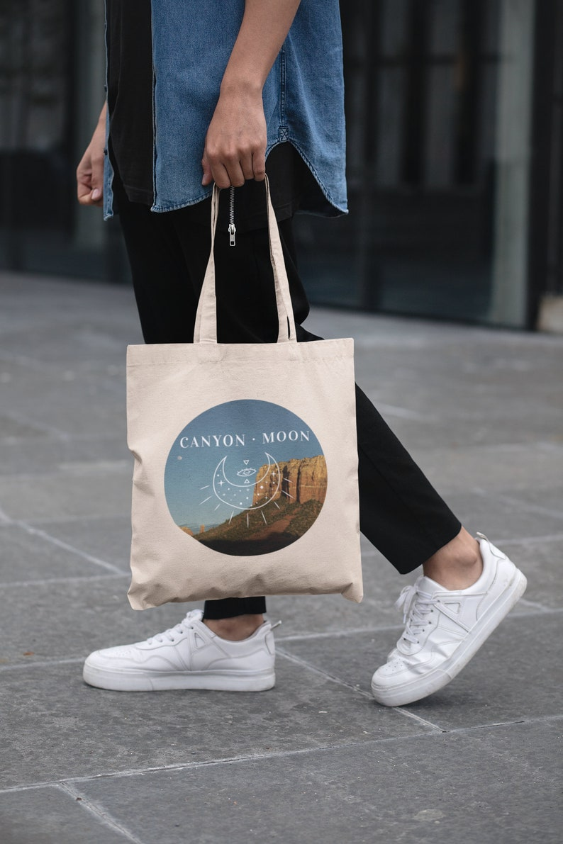 Canvas Tote Bag Harry Styles Merch Tote Bag Organic Cotton Canyon Moon Canvas Tote Bag Harry Styles