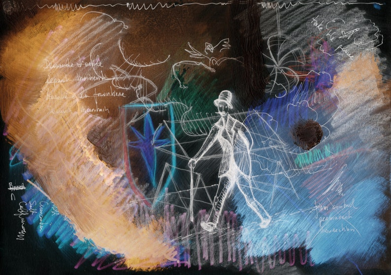 The Color Walker. Art print. image 0