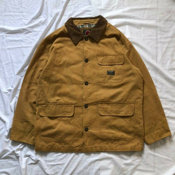 Vintage chore jacket lucky strike