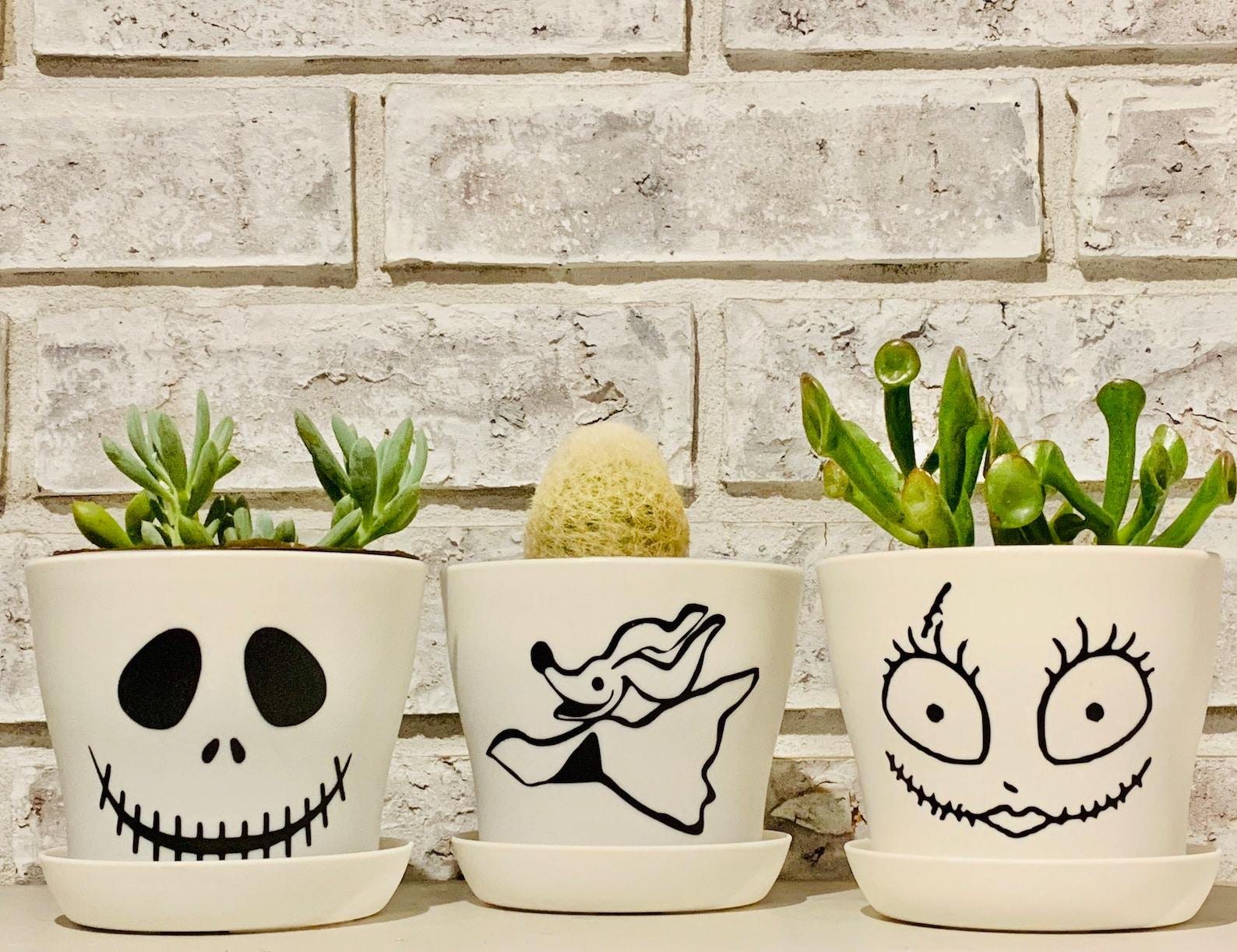Ghost Pots for Halloween