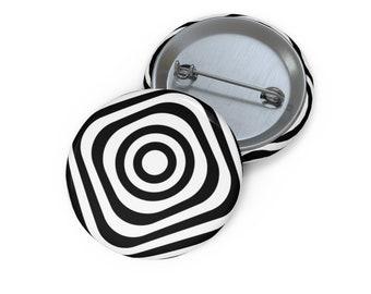 Optical illusion button