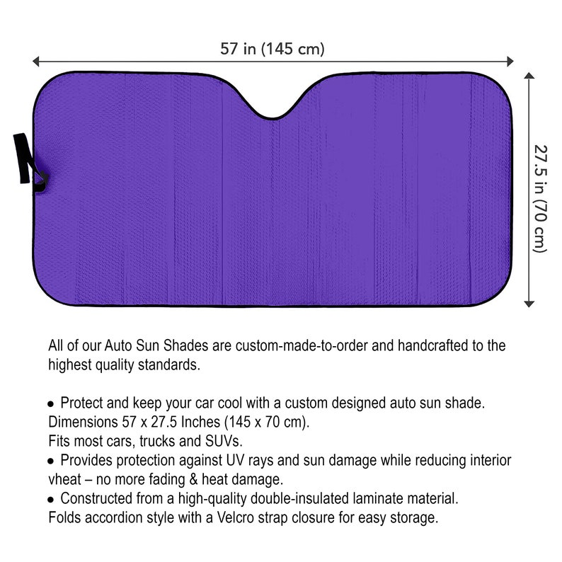 Fox  Auto Sun Shade Personalized Sunshade Windshield image 3