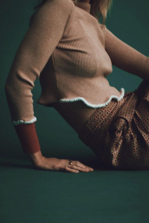 Super Soft Vintage Cropped Sweater