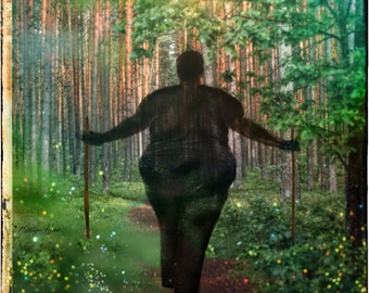 Into the Woods    Body Positive Art