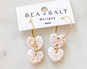 polymer Clay statement earrings Hypoallergenic Sweetheart Clay Earring Pack