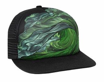 Green Room Hand Drawn Trucker Hat