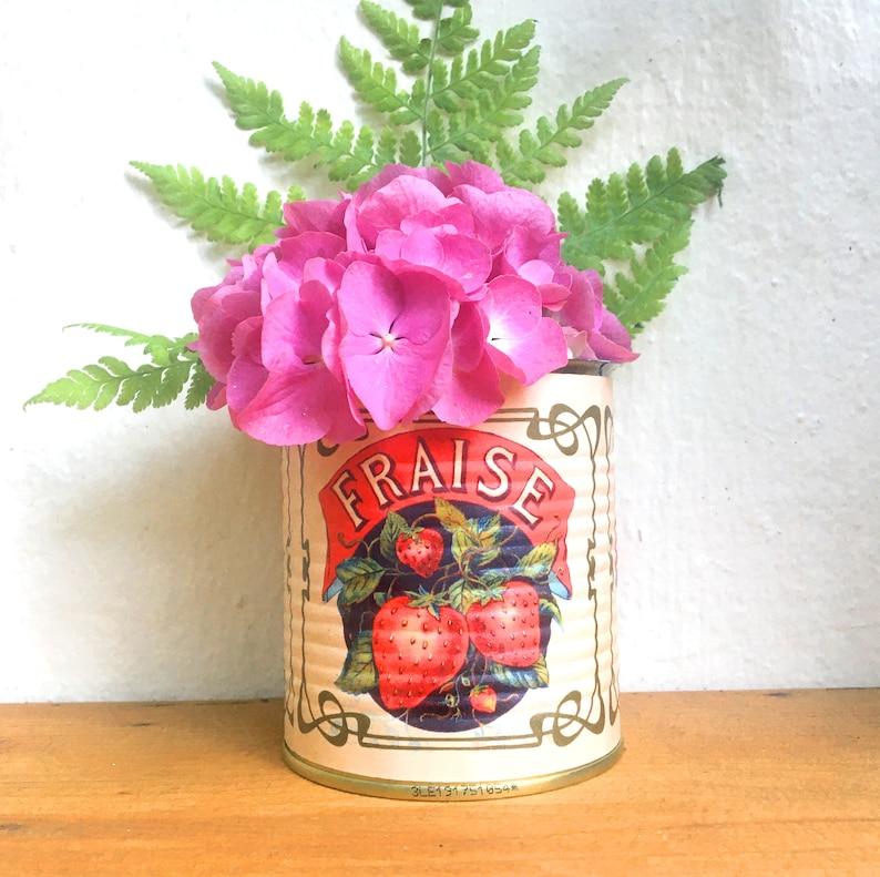 Canned Can Vintage Label