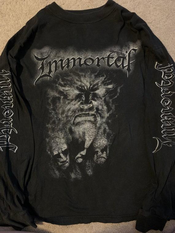 Immortal 1980's shirt size XL - image 1