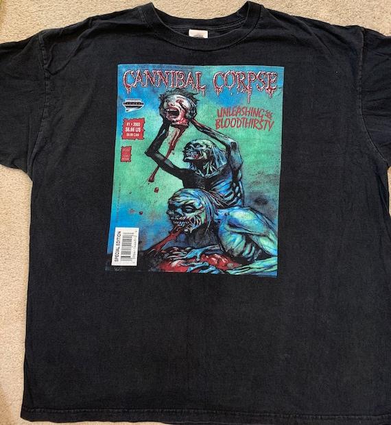 Cannibal Corpse 2003 XXL shirt