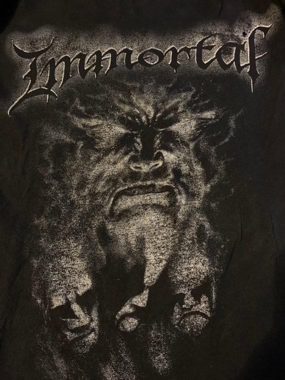 Immortal 1980's shirt size XL - image 4