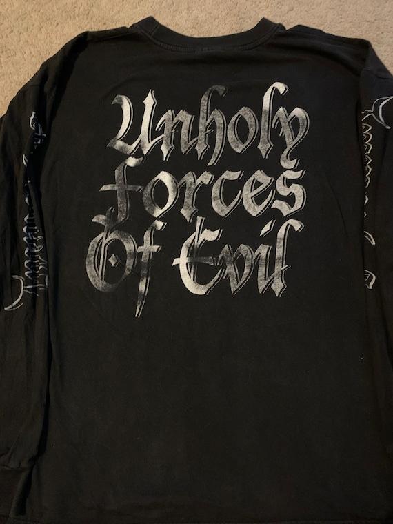 Immortal 1980's shirt size XL - image 3