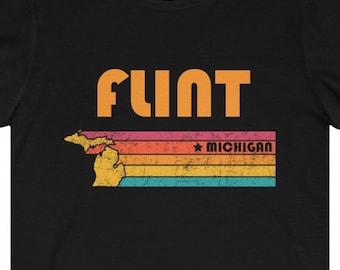 Vintage 80s Emerson School Flint Michigan T-Shirt Unisex Medium 50-50 Crewneck