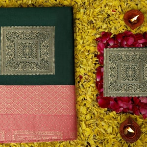 Designer Lichi Silk Bollywood Style Traditional Saree Bold And Beautiful Saree With Weaving Silk Exclusive Indian Wedding Saree south Indian