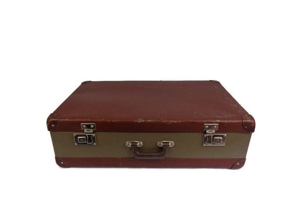 Vintage Large Suitcase, Travel Suitcase