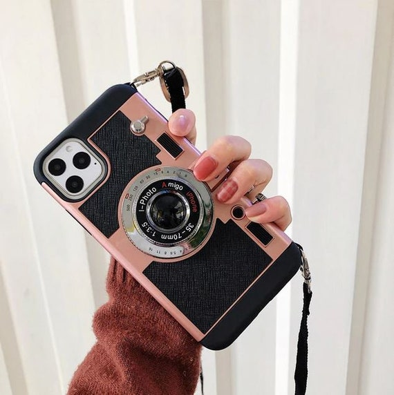 Emily In Paris Phone Case, Vintage Camera Phone Case For iPhone 11 Pro Max 11 Pro11 SE 2020 XR XS Max Xs X 7 8 Plus 7 8