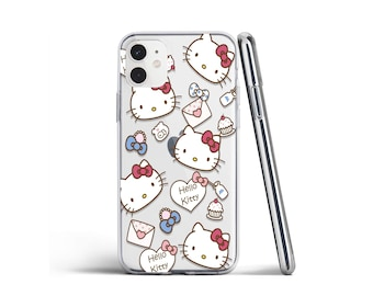 77 6S Case Samsung S10 Hello Kitty Phone Case iPhone 12 12 PRO 12 PRO Max XS Max Xr Xs X 88