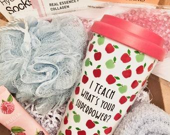Teacher Gift Box, Teacher Gift, Teacher Appreciation Gift, Gift for Teacher, Birthday gift for teacher, Back to school Gift for Teacher