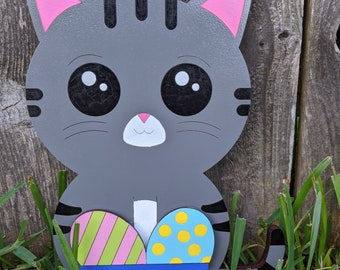 Cat Sign - Interchangeable Monthly