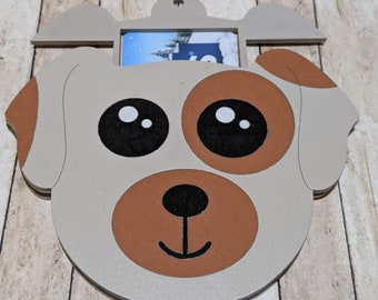 Puppy Gift Dog Card Holder SVG