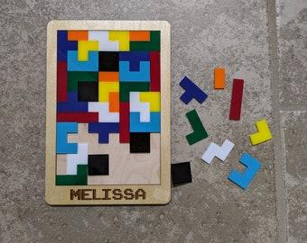 Tetris Inspired Puzzle