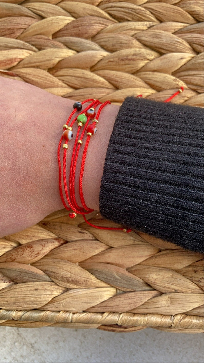 protection evil eye red bracelet red string. bracelet for protection Evil eye bracelet