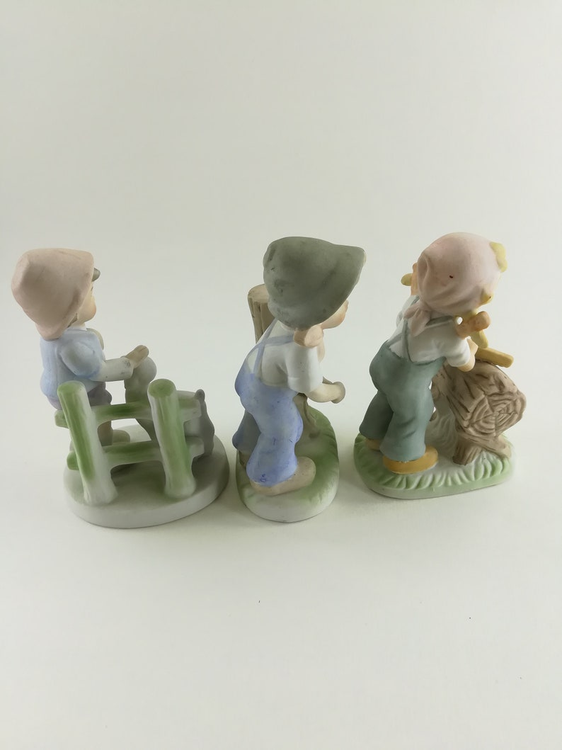 Porcelain Children Figurines