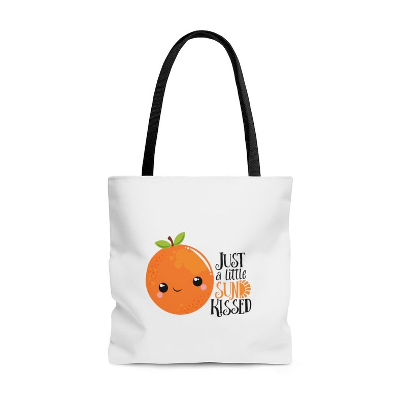 Just a Little Sun Kissed Orange Tote Bag