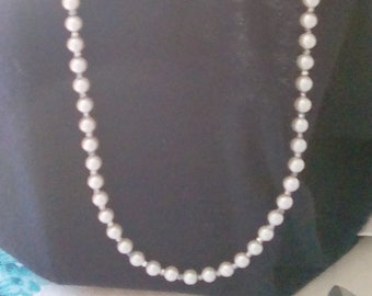 LONG PEARL NECKLACE 26 inches