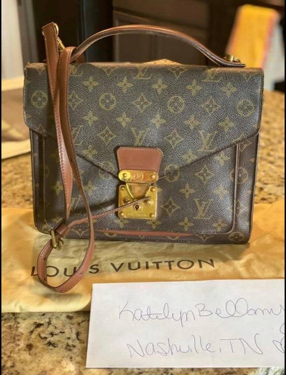Vintage Louis Vuitton side bag