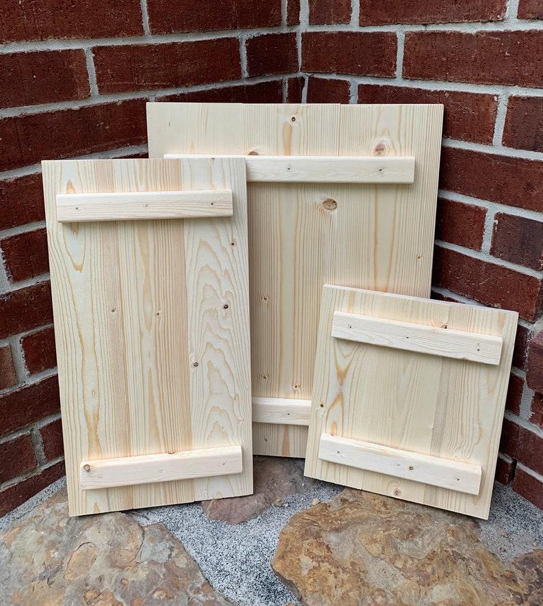 Unfinished Wood Sign DIY Sign Blank Pallet Board Wood | Etsy