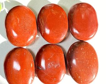 Palm Stones - Red Jasper Crystal