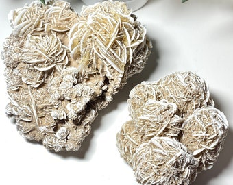 Desert Rose Crystal Large Raw Clusters - Calm, Spirit, Connection