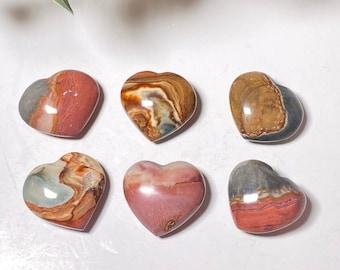 Polychrome Jasper Crystal Mini Hearts
