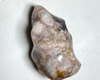 Flower Agate Crystal Flame